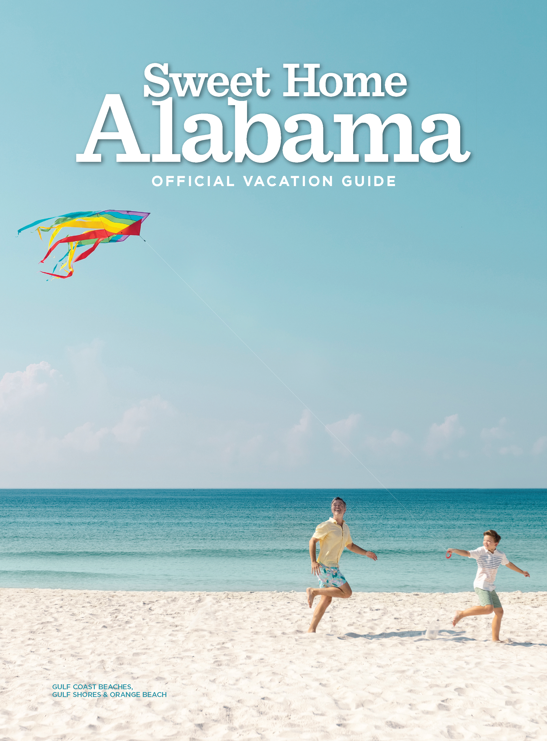 Alabama Travel magazine front cover